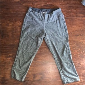 New balance silver workout leggings